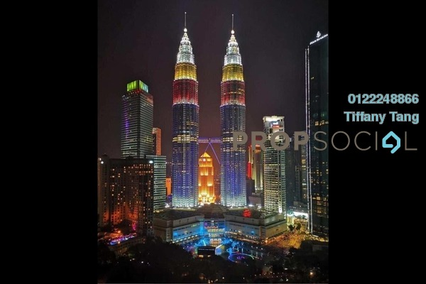 Serviced Residence For Sale in The Ruma, KLCC Freehold Fully Furnished 2R/2B 2.57m