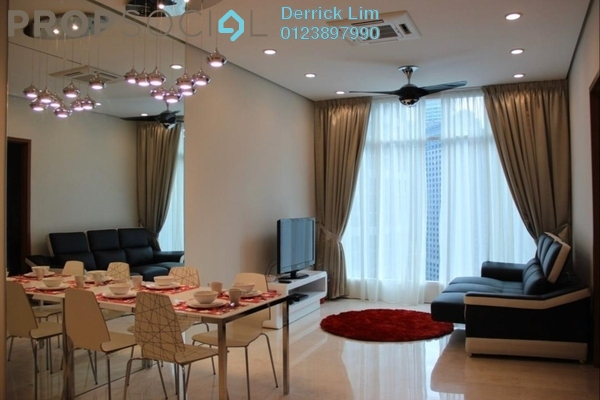 Condominium For Rent in Core SoHo Suites, Sepang Freehold Fully Furnished 2R/1B 2k