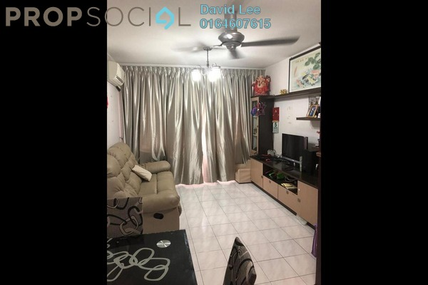 Apartment For Sale in Nibong Indah, Sungai Nibong Freehold Fully Furnished 3R/2B 300k