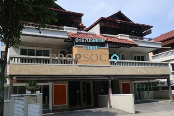 Semi-Detached For Rent in Duta Tropika, Dutamas Freehold Fully Furnished 5R/5B 12k