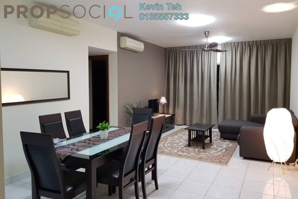 For Rent Condominium at Kiara Designer Suites, Mont Kiara Freehold Fully Furnished 3R/2B 2.6k