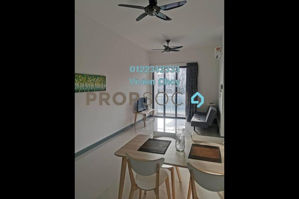 Serviced Residence For Rent in South View, Bangsar South Freehold Semi Furnished 2R/2B 2.5k