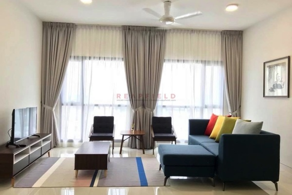 For Rent Condominium at BayBerry Serviced Residence @ Tropicana Gardens, Kota Damansara Freehold Fully Furnished 2R/2B 3.8k