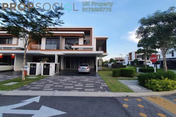 For Rent Terrace at Terraza @ Eco Sanctuary, Telok Panglima Garang Freehold Semi Furnished 4R/4B 2.8k