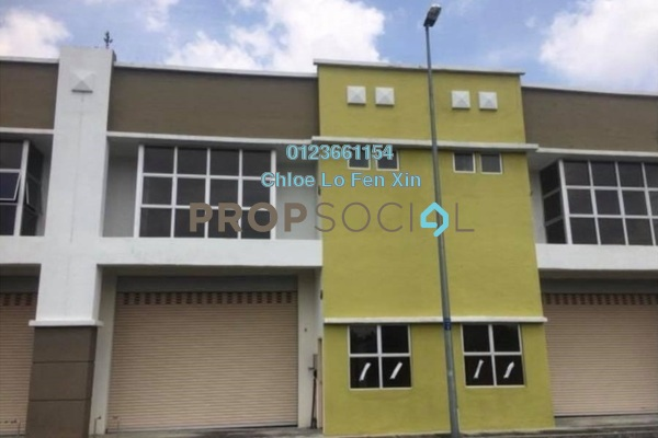 Factory For Sale in Bukit Kemuning Industrial Park, Kota Kemuning Freehold Unfurnished 0R/2B 1.2m