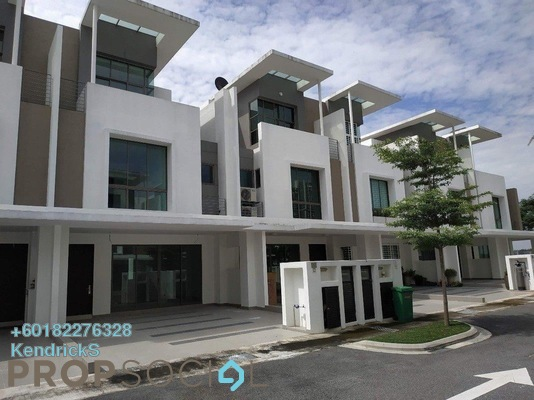For Rent Terrace at Lake Point Residence, Cyberjaya Freehold Semi Furnished 6R/5B 2.7k