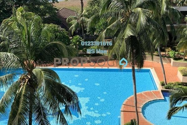 Apartment For Sale in Mahkota Hotel Apartment, Bandar Melaka Leasehold Fully Furnished 1R/1B 183k