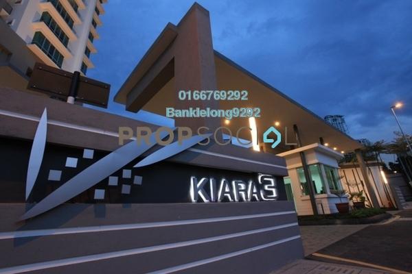 Condominium For Sale in Aston Kiara 3, Mont Kiara Freehold Semi Furnished 4R/3B 511k