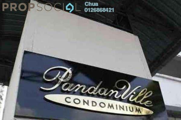 Condominium For Rent in Pandan Villa, Pandan Indah Leasehold Unfurnished 3R/2B 1.35k