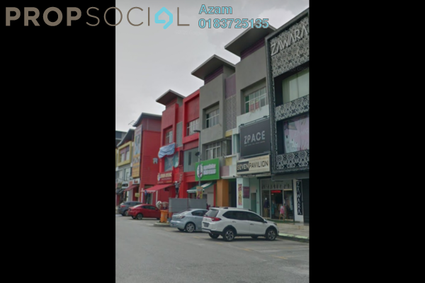 Shop For Rent in Section 7, Shah Alam Freehold Semi Furnished 0R/2B 7.3k