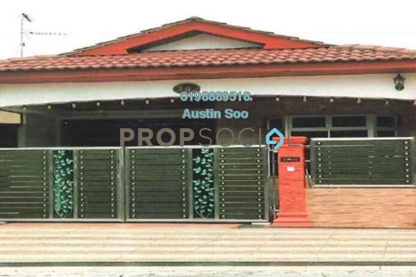 Terrace For Sale in Taman Puteri Wangsa, Ulu Tiram Freehold Unfurnished 3R/2B 290k