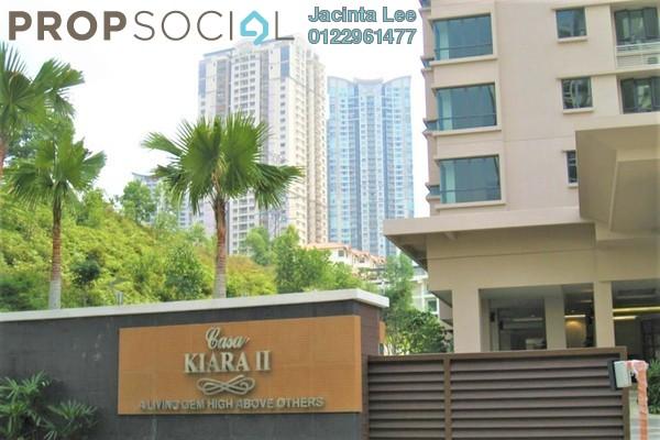 Condominium For Sale in Casa Kiara II, Mont Kiara Freehold Semi Furnished 4R/3B 693k