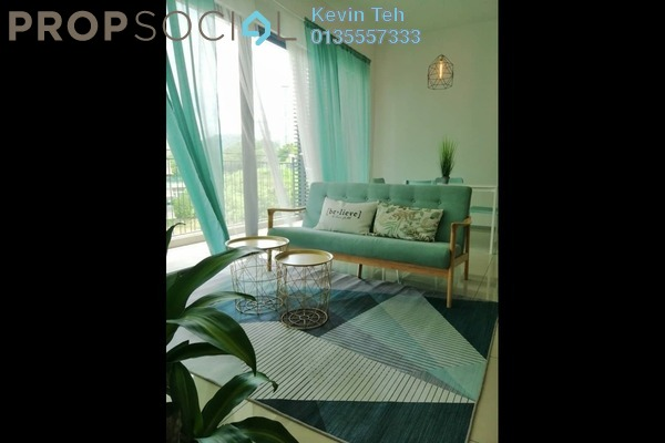 For Rent Condominium at Sunway Mont Residences, Mont Kiara Freehold Fully Furnished 3R/2B 4k