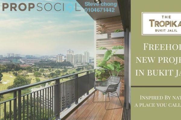 Condominium For Sale in The Tropika, Bukit Jalil Freehold Semi Furnished 3R/3B 645k