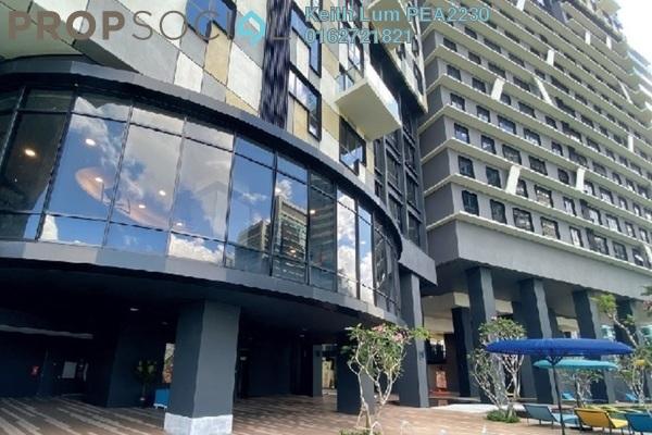 For Rent Condominium at Novum, Bangsar South Freehold Fully Furnished 2R/1B 3.2k