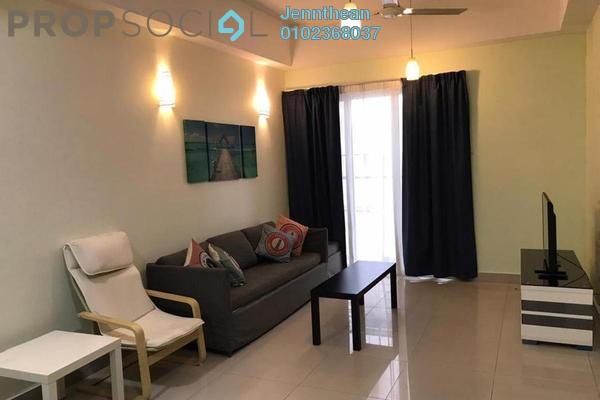 Condominium For Sale in Gaya Bangsar, Bangsar Leasehold Fully Furnished 1R/1B 630k