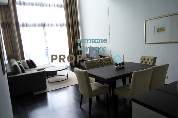 For Rent Condominium at Clearwater Residence, Damansara Heights Freehold Fully Furnished 2R/2B 6.5k