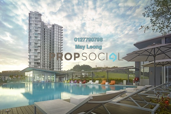 Condominium For Sale in The Breezeway, Desa ParkCity Freehold Unfurnished 2R/2B 1.35m