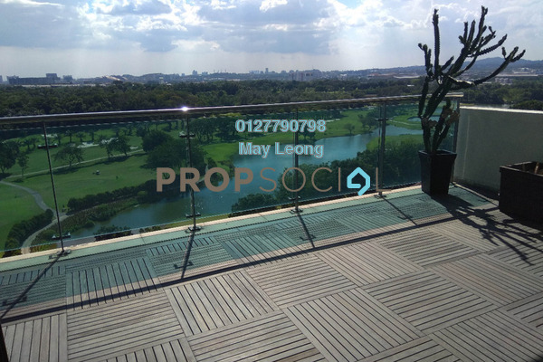 For Sale Condominium at The View Residences, Shah Alam Freehold Semi Furnished 3R/4B 2.5m