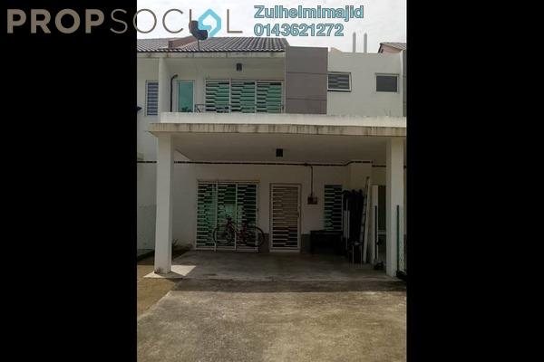 Terrace For Sale in Jalan Ambang Suria, Bandar Puncak Alam Leasehold Unfurnished 4R/3B 460k