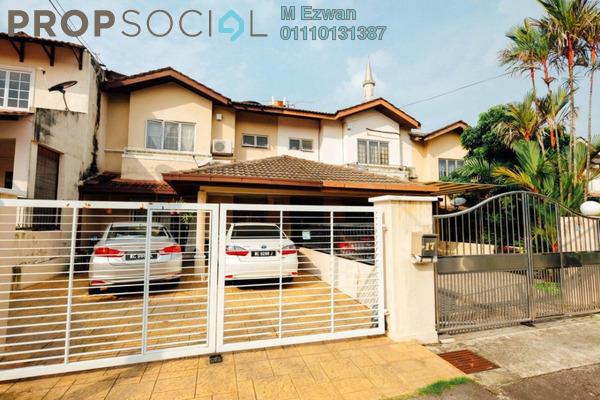 Terrace For Sale in SD9, Bandar Sri Damansara Freehold Fully Furnished 4R/3B 950k