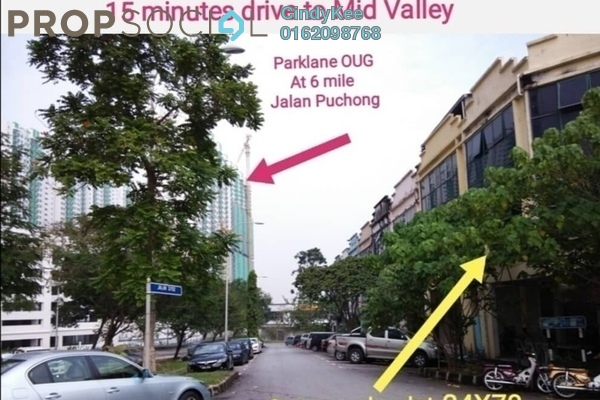 For Sale Shop at Taman Perindustrian OUG, Old Klang Road Freehold Semi Furnished 0R/0B 2m