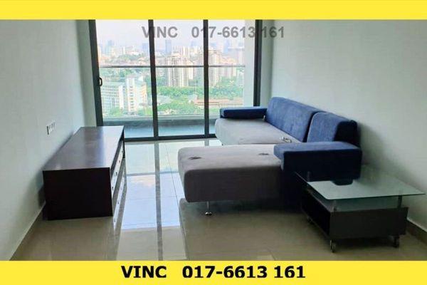 For Rent Condominium at KL Palace Court, Kuchai Lama Freehold Semi Furnished 3R/2B 2.2k