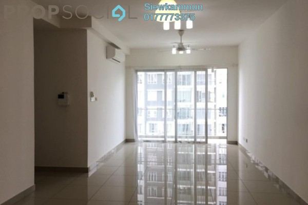 For Rent Condominium at Villa Crystal, Segambut Freehold Semi Furnished 3R/3B 1.7k