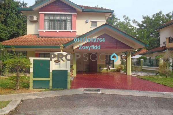 Bungalow For Sale in Sri Damai, Bukit Rimau Freehold Semi Furnished 5R/4B 2.3m