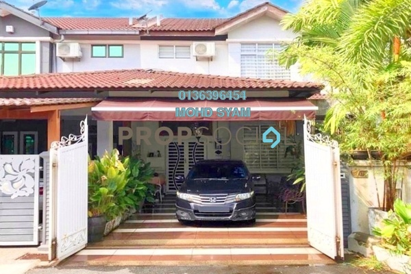 For Sale Terrace at Taman Ayer Keroh Heights, Ayer Keroh Freehold Fully Furnished 4R/3B 580k