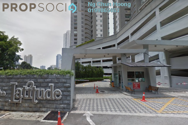 For Sale Condominium at The Latitude, Tanjung Tokong Freehold Fully Furnished 3R/4B 790k