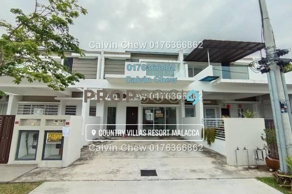 For Sale Terrace at Country Villas Resort, Melaka Leasehold Unfurnished 5R/5B 365k