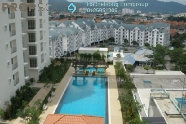 Condominium For Rent in Ampang Putra Residency, Ampang Freehold Fully Furnished 3R/2B 2k
