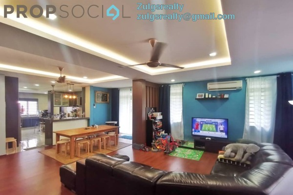 Terrace For Sale in Ukay Heights, Ukay Freehold Semi Furnished 4R/3B 1.25m