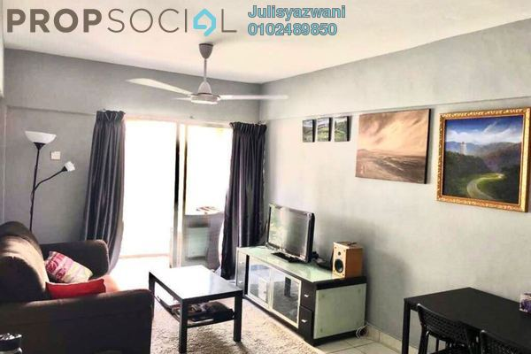 Apartment For Sale in Arena Green, Bukit Jalil Freehold Fully Furnished 2R/2B 295k