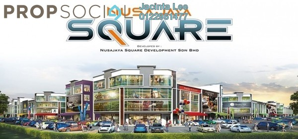 For Sale Shop at SiLC, Iskandar Puteri (Nusajaya) Freehold Unfurnished 0R/6B 802k