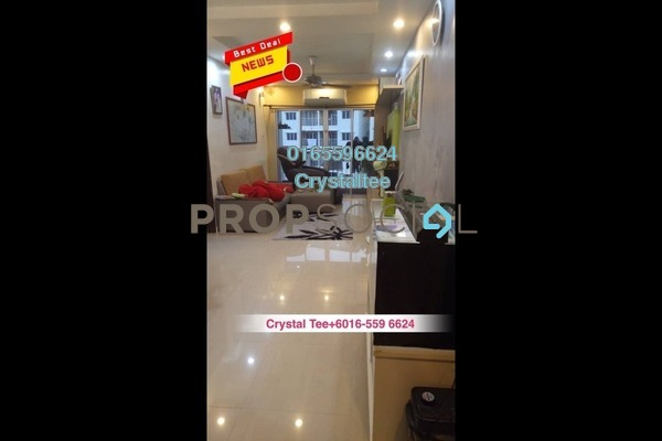 Apartment For Sale in Park Residence, Bukit Jelutong Freehold Fully Furnished 3R/2B 428k