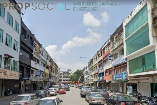 Shop For Sale in Taman Maluri, Cheras Freehold Semi Furnished 4R/4B 2.55m