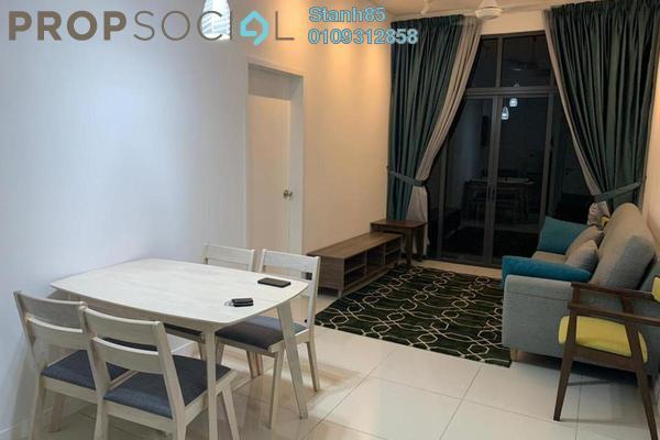 Condominium For Rent in Fera Residence @ The Quartz, Wangsa Maju Freehold Fully Furnished 2R/2B 2k
