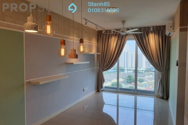 Condominium For Rent in Sentul Point, Sentul Freehold Semi Furnished 2R/2B 1.3k