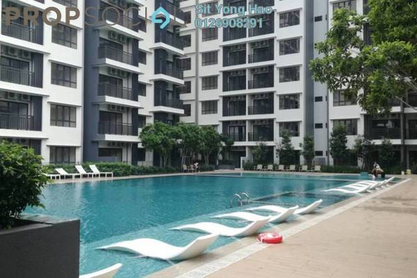 Condominium For Rent in Suria Residence, Bukit Jelutong Freehold Semi Furnished 1R/1B 1k