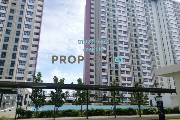 For Rent Condominium at LakeFront Homes, Cyberjaya Freehold Unfurnished 3R/2B 1k