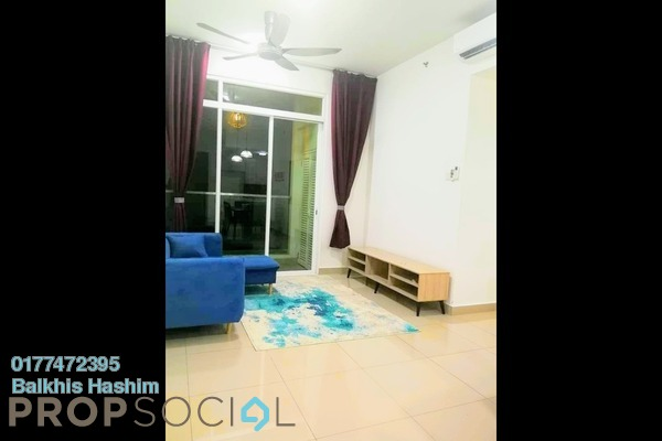 Condominium For Rent in Mutiara Ville, Cyberjaya Freehold Fully Furnished 3R/2B 1.7k