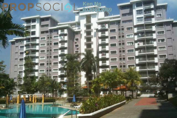 Apartment For Sale in Pan Vista, Bandar Baru Permas Jaya Freehold Fully Furnished 3R/2B 298k