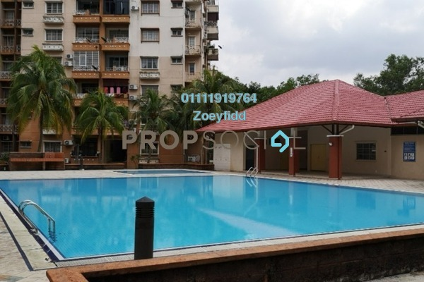 For Sale Condominium at Elaeis 2, Bukit Jelutong Freehold Fully Furnished 3R/2B 395k