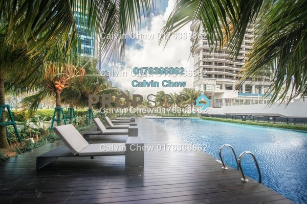 Serviced Residence For Sale in Imperia, Puteri Harbour Freehold Unfurnished 2R/3B 521k