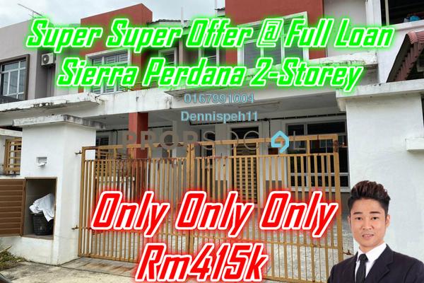 For Sale Link at Taman Sierra Perdana, Masai Freehold Unfurnished 4R/3B 415k