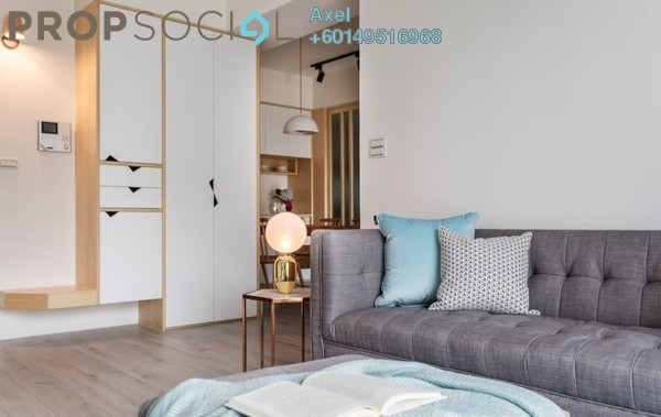 For Sale Condominium at Solaris Mont Kiara, Mont Kiara Freehold Fully Furnished 3R/3B 545k