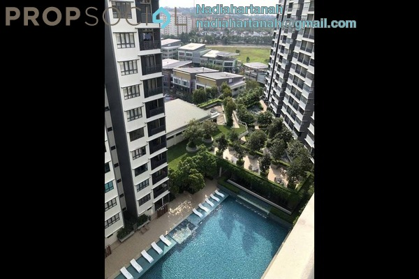 Condominium For Rent in Suria Residence, Bukit Jelutong Freehold Fully Furnished 3R/2B 2.2k