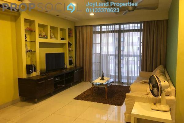 For Rent Apartment at Pelangi Astana, Bandar Utama Freehold Unfurnished 3R/2B 1.8k